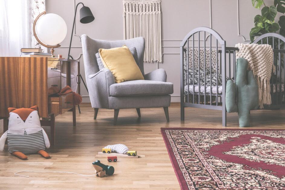 Retro místnost - efekt dosáhnete jednoduchým způsobem!