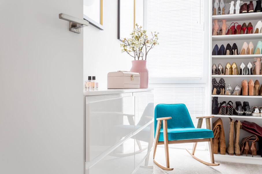 Skladování bot v malém bytě - kde začit?