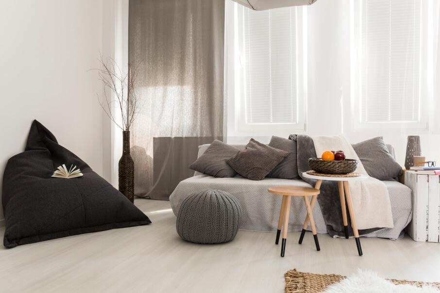 Jak si vybrat závěsy do obývacího pokoje?