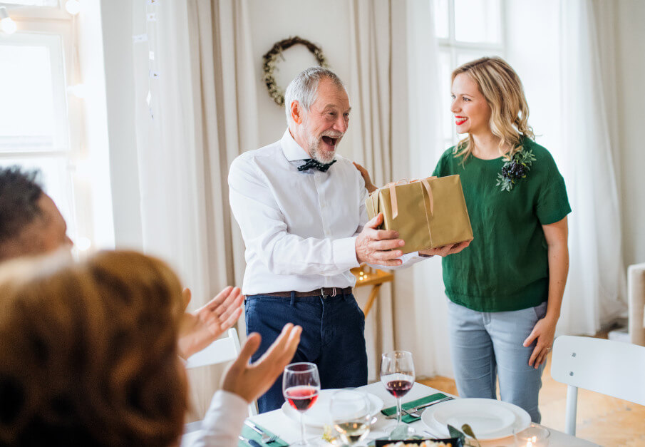 Vánoční dárek pro dědečka