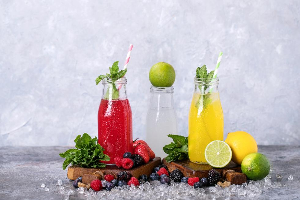Recepty na limonádu pro celou rodinu