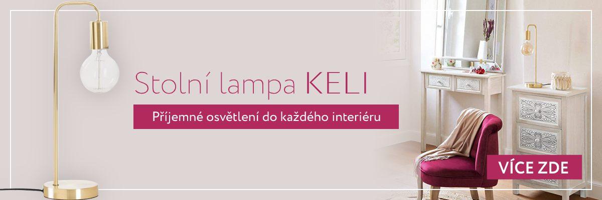 Stolní lampa Keli