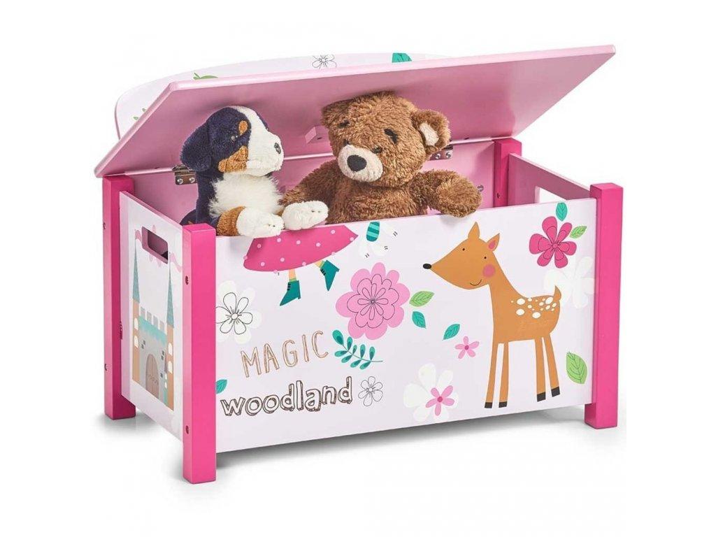 Kontejnery a boxy na hračky
