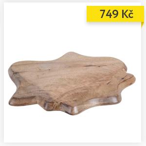 Servírocací deska z mangového dřeva, 52 x 43 cm