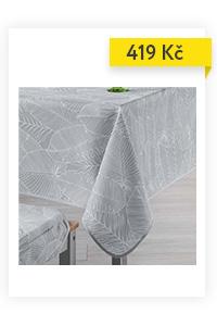 Ubrus GATSBY 150 x 200 cm, šedá barva
