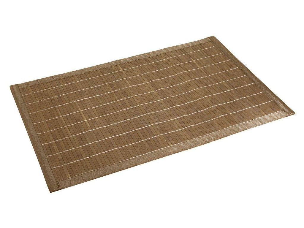 Bambusová podložka BAMBOO, koupelnový kobereček