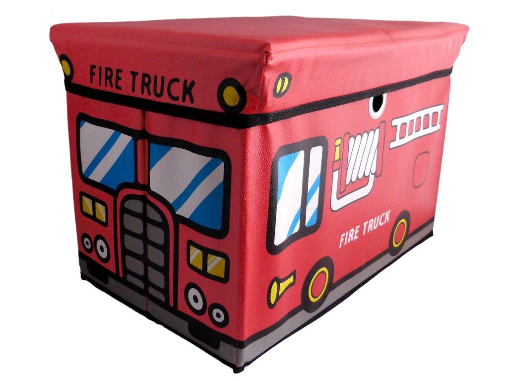 Taburet na hračky vyroben z MDF
