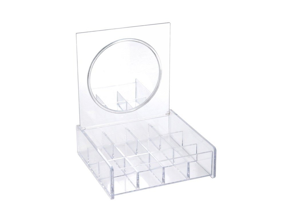 Organizér na bižuiterii ELEGANZA, zrcadlo ,12 přihrádek