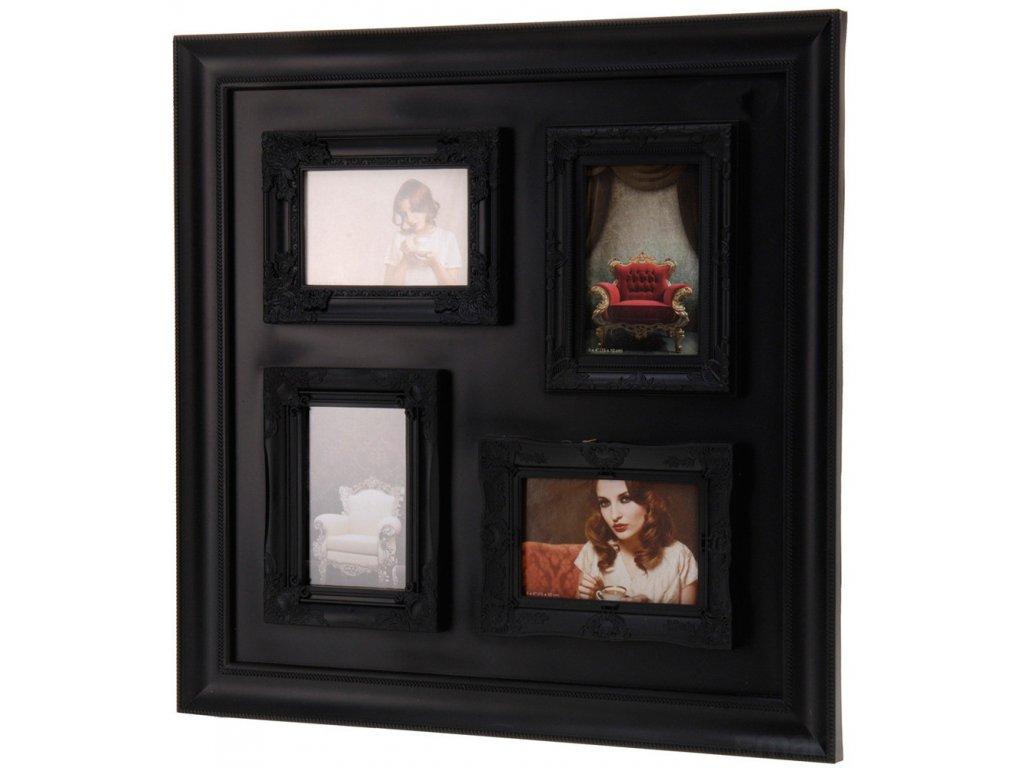 Moderní fotorámeček GLAMOUR, na 4 fotky
