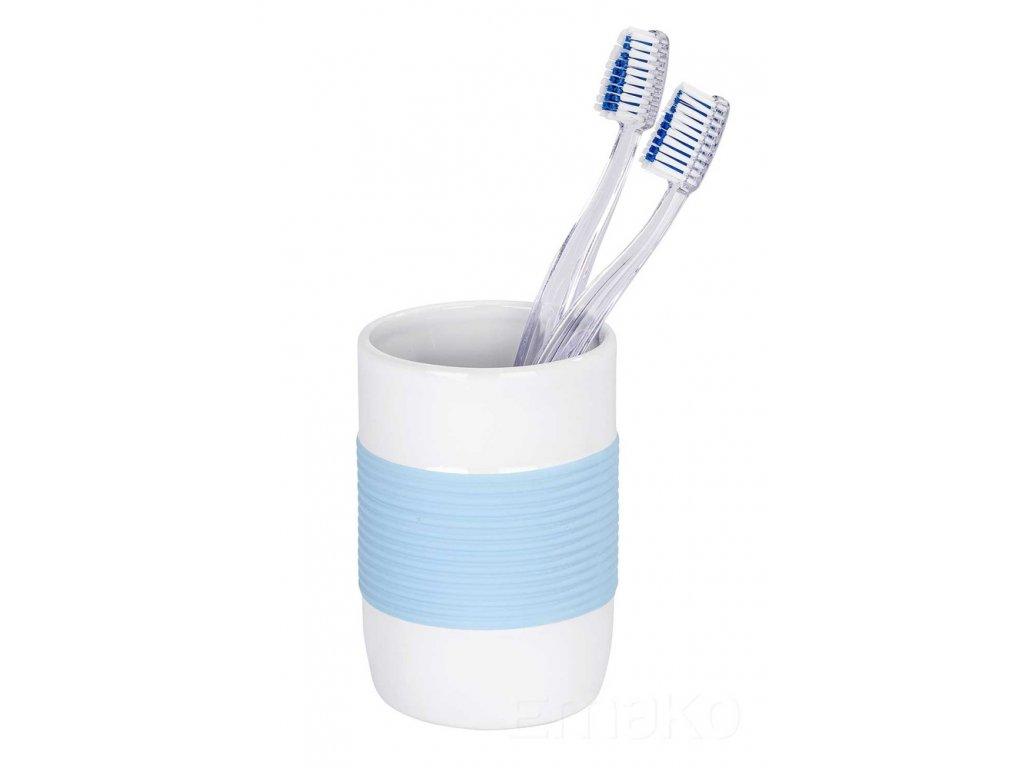 Nádobka na zubní kartáčky BAHIA BLUE, WENKO