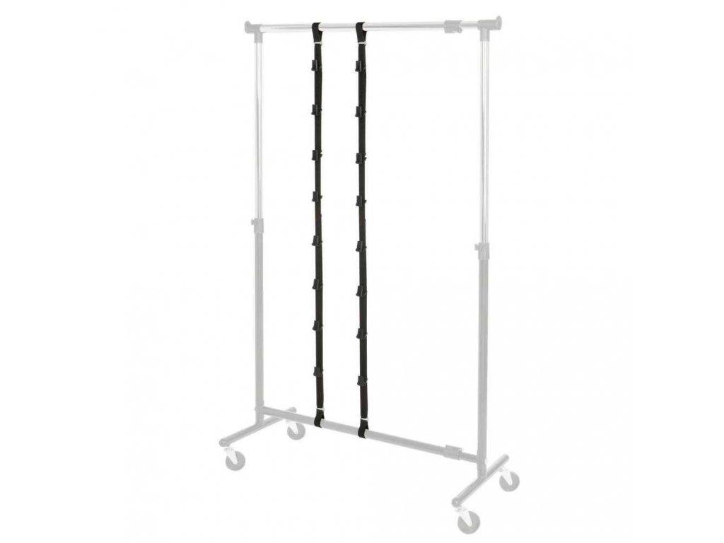 Organizer na kabelky z kovu, 195x3x3,5 cm, 2 kusy v sadě, WENKO