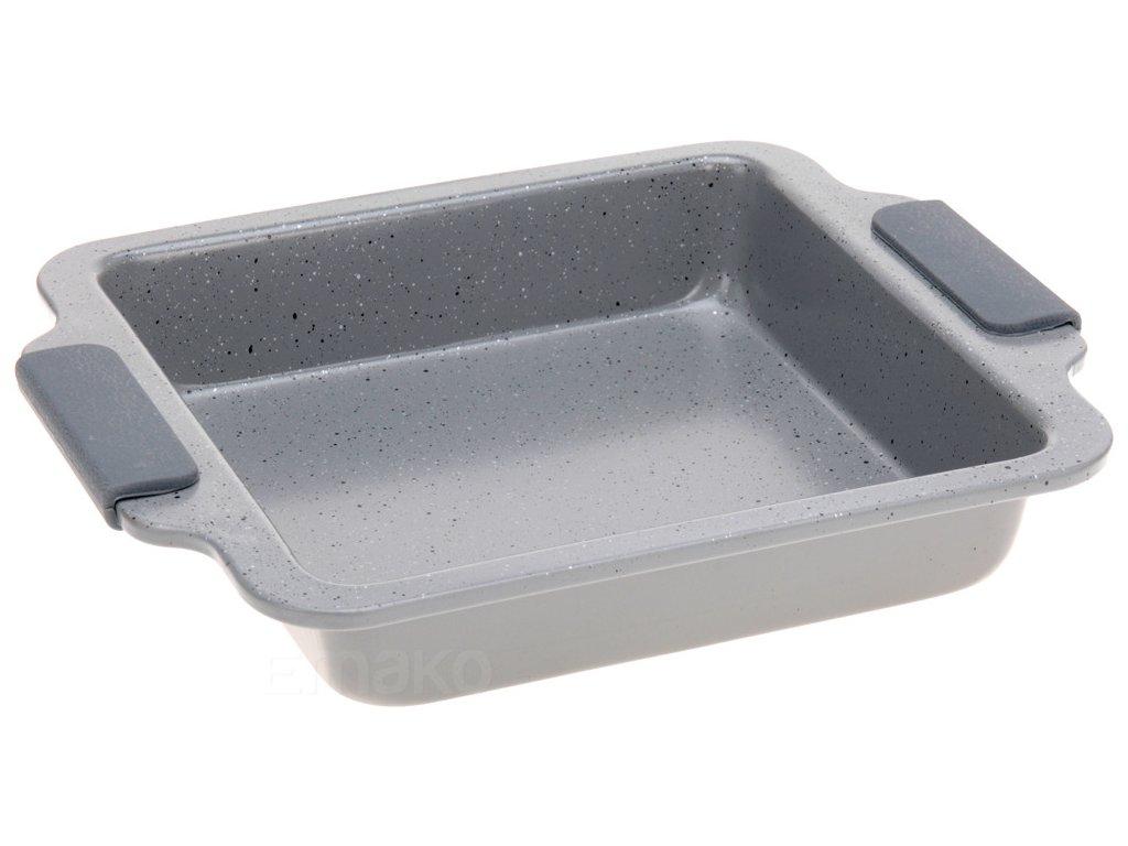 Obdélníková forma na pečení - kovová s keramickým povlakem