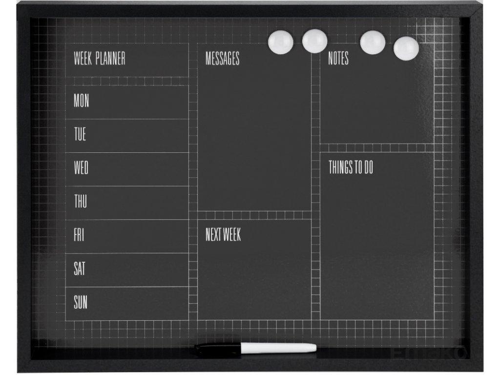 Magnetická poznámková tabule MEMOBOARD