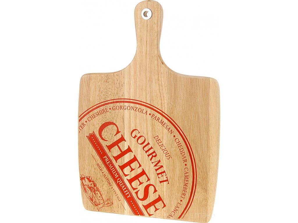 Krájecí prkénko pro podávání sýrů a občerstvení