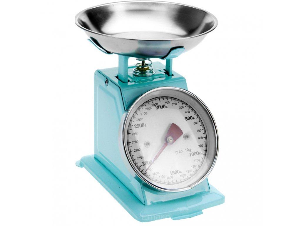 Mechanická kuchyňská váha RETRO DESIGN, 3 kg