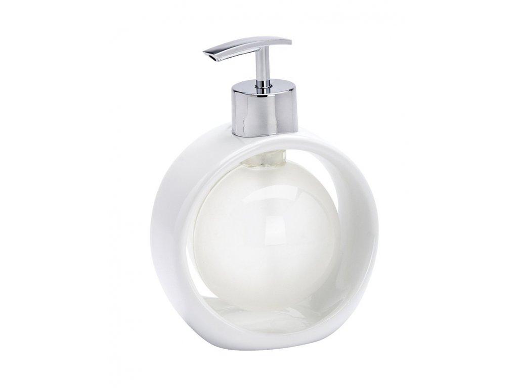 Dávkovač na mýdlo PERL WHITE  - 190 ml, WENKO