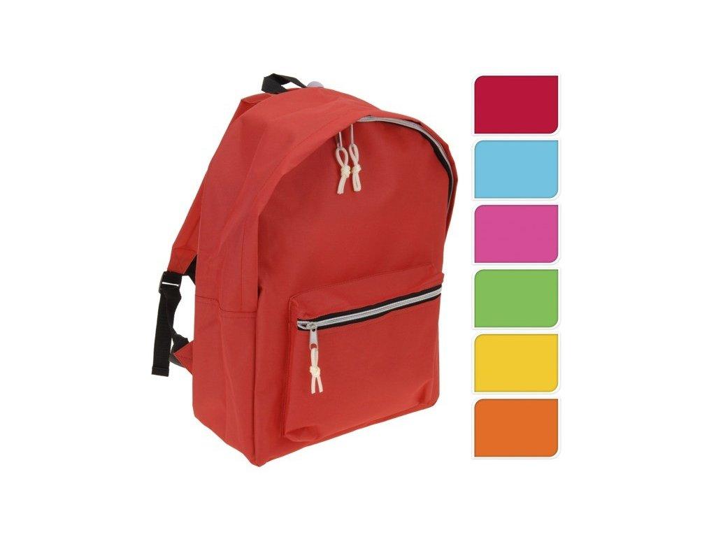 Školní batoh pro mládež SIMPLE-ONE, 13 l, 41x30x14 cm, 600D polyester, Emako