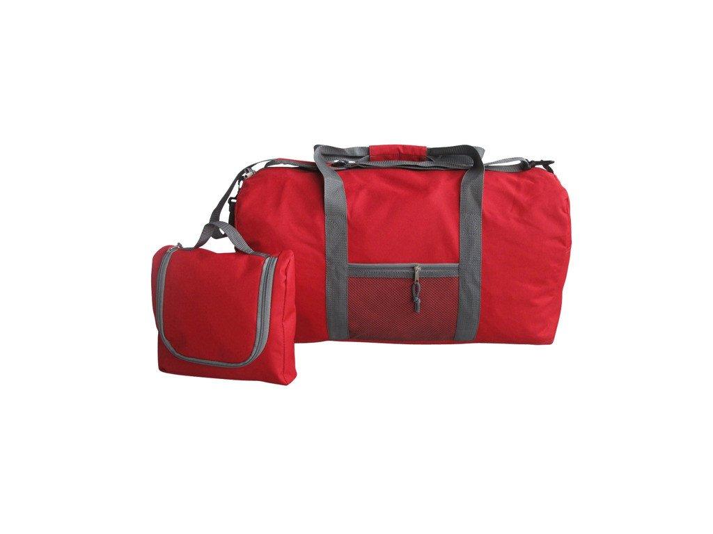 červená taška, sportovní design