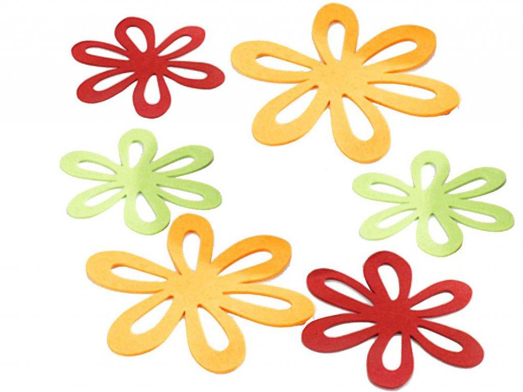 Plstěné podložky na stůl - 6 kusů v sadě, WENKO