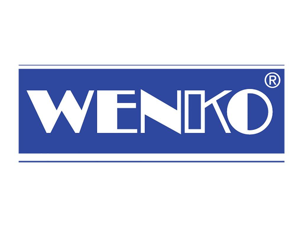 Sprchový závěs, textilní, barva bílá, 180x200 cm, WENKO