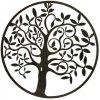 Zahradní dekorace, dekorace na zeď - strom, Ø 58 cm