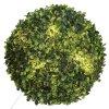 Lampa LED ukrytá uvnitř umělé rostliny, LED koule, lampa koule, světelná koule, umělé květiny, ozdoby, dekorativní koule
