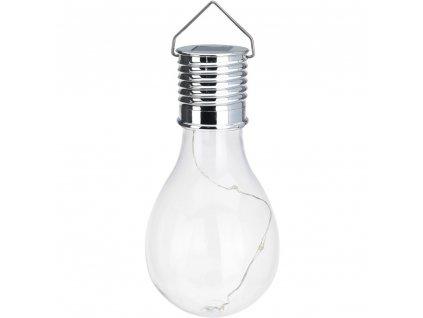 Solární lampa LED, dekorační žárovka na zavěšení Home Styling Collection
