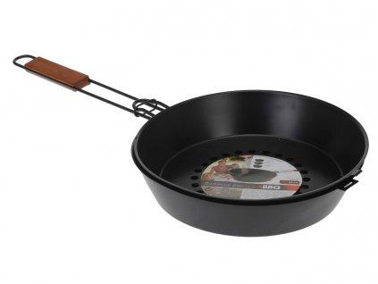 Grilovací pánev BBQ s poklicí, 2v1