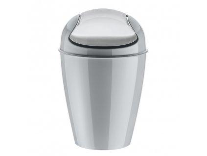 Odpadkový koš DEL M, 12 l- barva šedá, KOZIOL