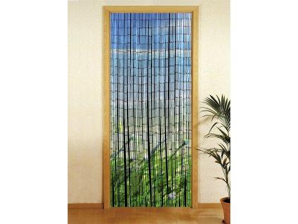 Bambusový závěs Ostrov, 90x200 cm, WENKO