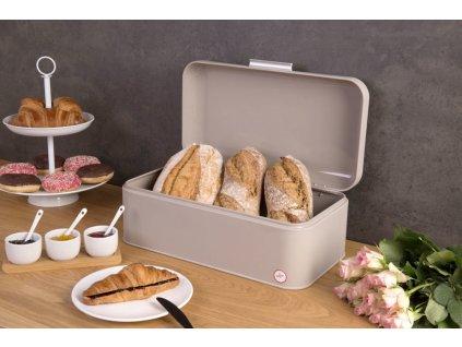 Dóza na chleba RUBBER, 43x23x17 cm