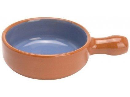 Keramická miska, omáčník, zapékací miska, tmavě modrá barva
