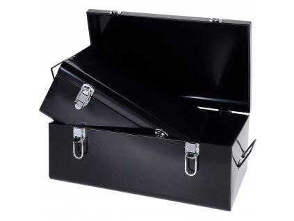 Kovový kontejner pro uchovávání, nádoba - 2 ks