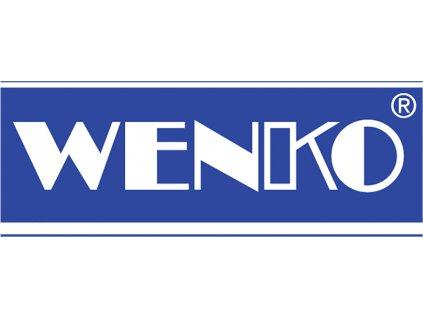 Sprchový závěs, textilní, světle modrý, 180x200 cm, WENKO