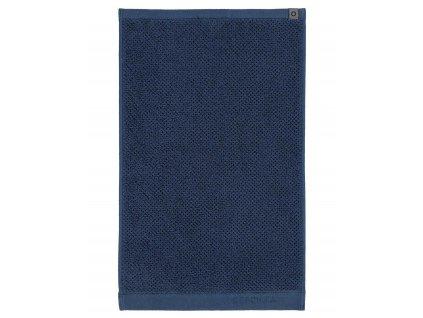 Koupací ručník, velký ručník, koupelny ručník,100% Bavlna, modrá barva, Essenza - 30x50