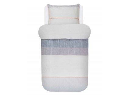 Bavlněné povlečení na postel, povlečení na jednolůžko THERON, obrázkové povlečení, 100 % bavlna - Marco O'Polo - 140x220+60x70
