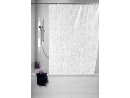 Sprchový závěs, textilní, Deluxe, 180x200 cm, WENKO