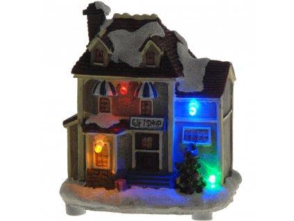 Dekorační domek s osvětlením