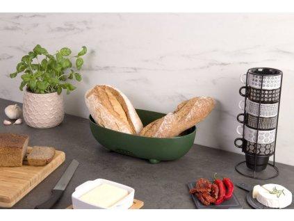 Kontejner na chleba MANNA - barva bílá, KOZIOL