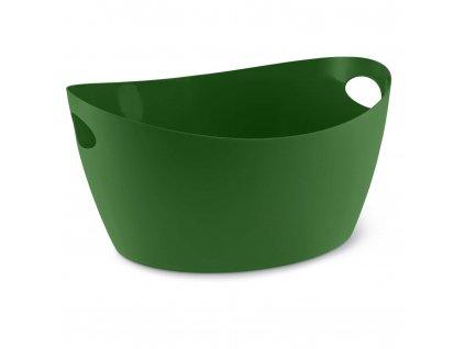 Škopek do koupelny BOTTICHELLI,velikost L- barva zelená, KOZIOL