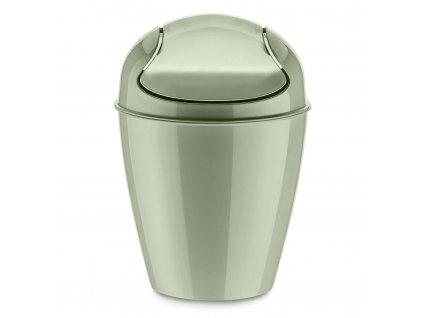 Odpadkový koš DEL XS, 2 l - barva tmavě zelená, KOZIOL