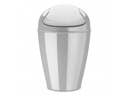 Odpadkový koš DEL S, 5 l - barva šedá, KOZIOL
