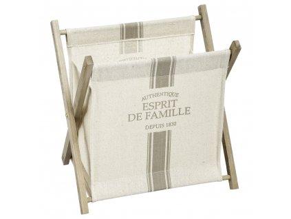 Dřevěný zásobník natiskoviny, zásobník nanoviny, koš na noviny, stojan načasopisy, zásobník načasopisy, bytový doplněk