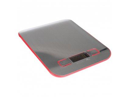 Elektronická kuchyňská váha z nerezové oceli s displejem