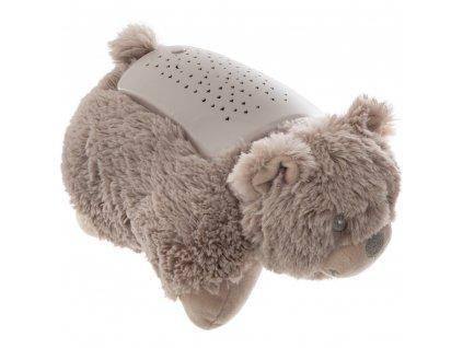 Medvídek s projektorem, přídavné osvětlení do dětské ložnice, ve které budou vytvářet čarovnou atmosféru