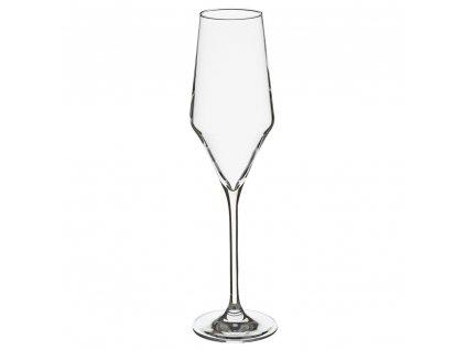 Sada skleniček, 6 kusů, 220 ml, 6x24x4 cm