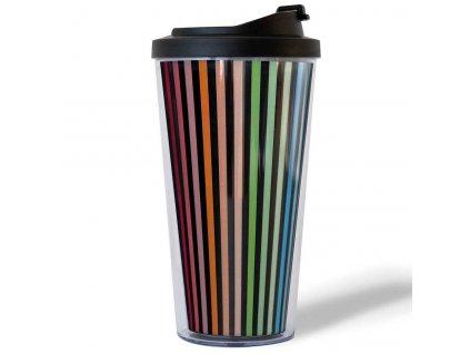 Barevný termo hrnek Coffee to go William značky Remember – vhodný pro aktivní lidi