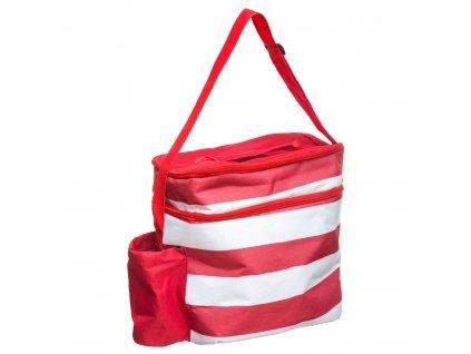 Tepelná taška na jídlo a pití s kapacitou 18L, praktická taška pro oběd