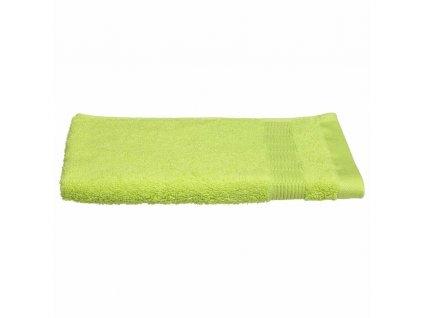 Zelený koupelnový ručník, bavlněný