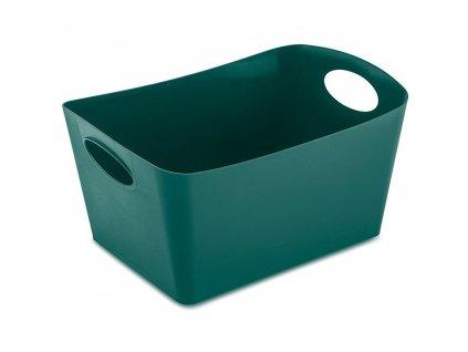 Koupelnová mísa BOXXX, nádoba, velikost M - smaragdová barva, KOZIOL
